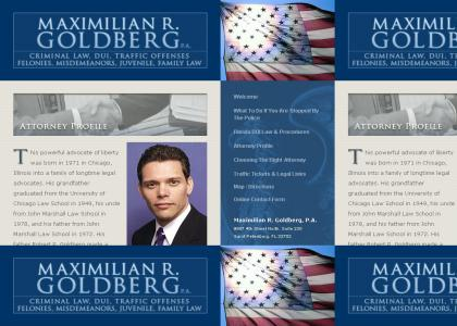 Max Goldberg takes up a new profession... (cut out browser crap)