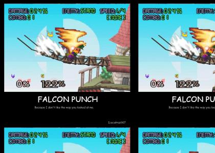 Falcon Punch because......