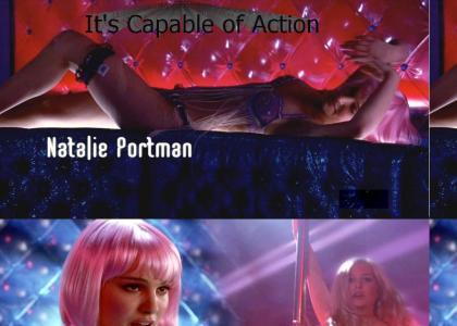 Natalie Portman Stripper
