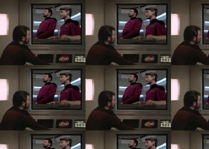 Riker has MUSIC CLASS.
