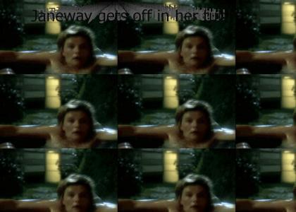 Janeway Gets Some Tubbin