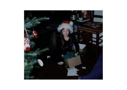 Cheekygirl, age 7?