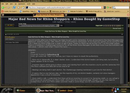 The Death of Rhino Video Games
