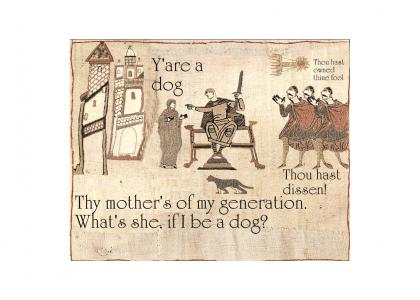 Medieval diss!