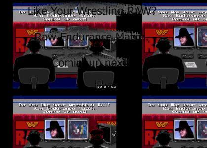 Raw Wrestling Match:Undertaker VS Moskau