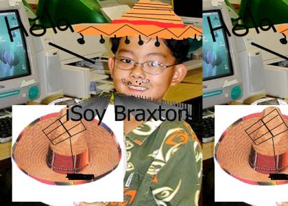 Braxton invents...A SOLAR POWERED SOMBRERO!