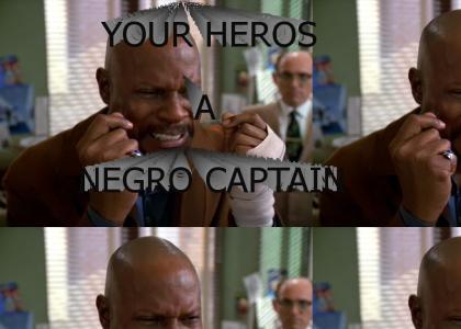 Sisko Vs. Racism!