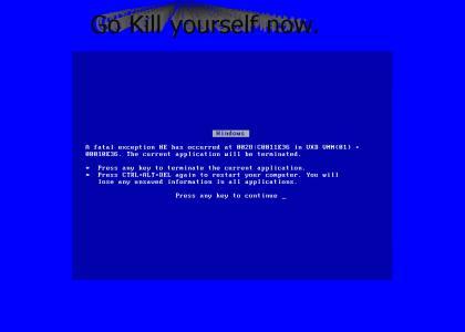 I'm Blue abu dee. abu......... die system die....