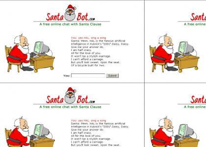 Santa Bot is HAL