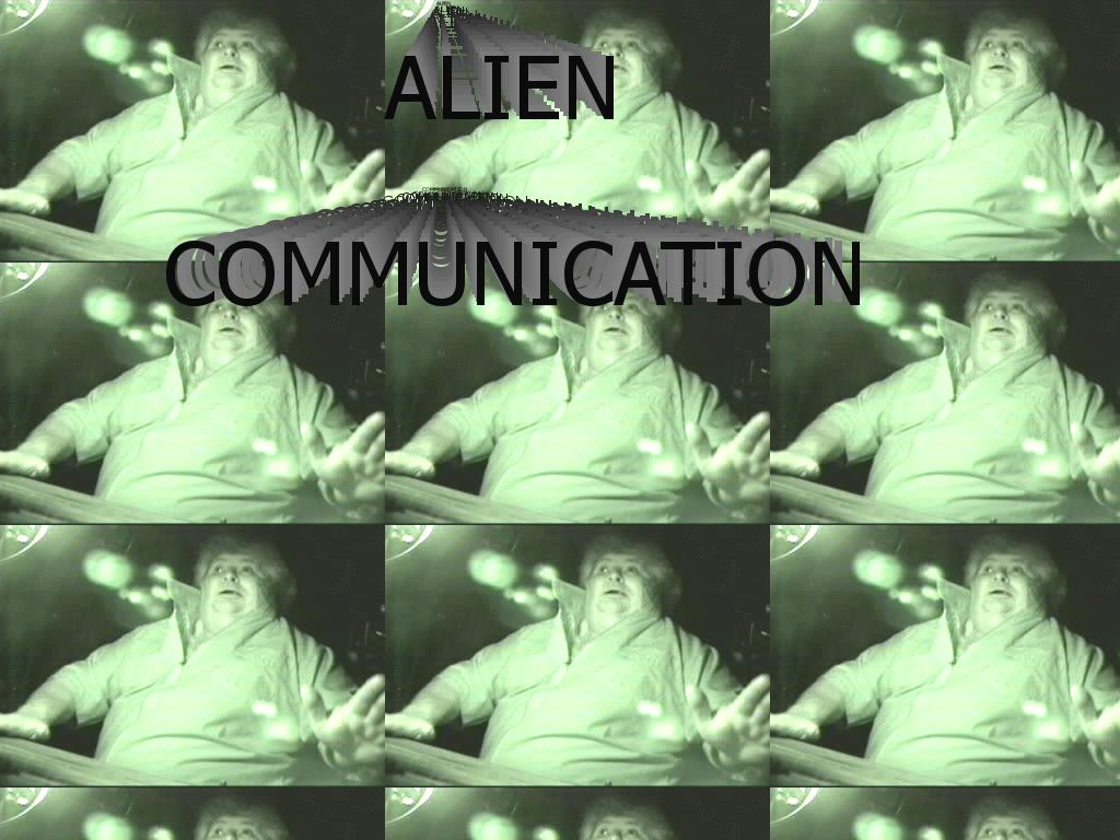 aliencommunication