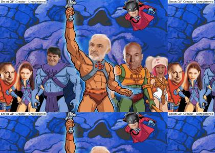 Heman (YTMND) vs Hubbard (Scientology)
