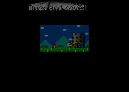 Mario teaches nuclear safety