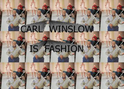 CARL WINSLOW IS FASHION