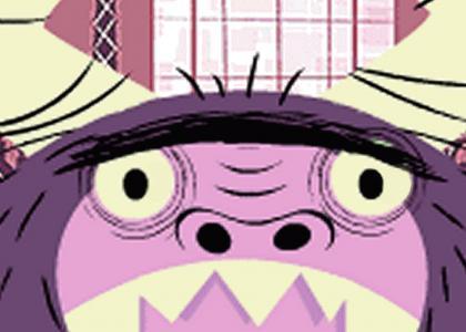 Eduardo stares into your soul [foster's]
