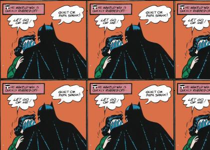 Batman: PAPA SPANK