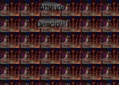 Greg Brady is Attitude Dancing!