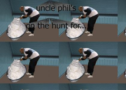 uncle phil is hungry as the wolf