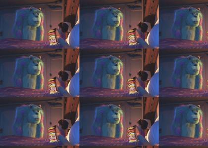 Boo will always remember, Sulley ate all the chips