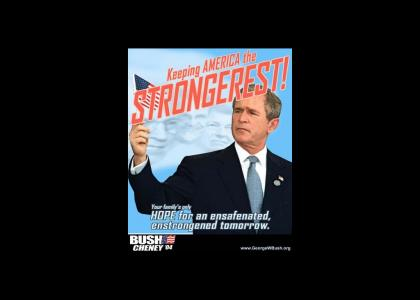 The Grammar of George Bush