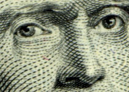 Thomas Jefferson Stares Into Your Soul
