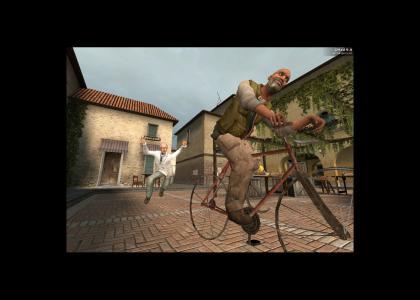 N*gg* stole my bike (Half Life 2)