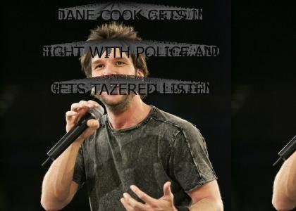 DANE COOK GETS TAZERED AT FLORIDA UNIVERSITY AT JOHN KERRY TALK
