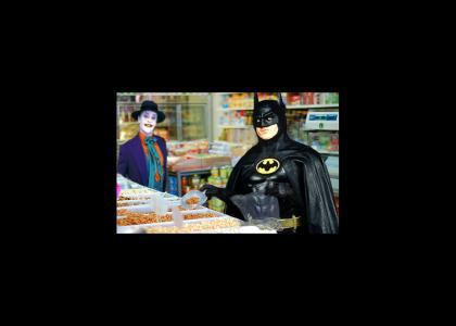 Batman has a sudden craving