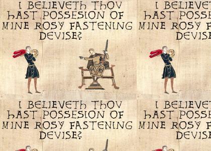 Medieval Fastening Devise