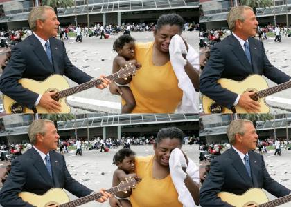 Bush Cares About Black People!