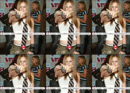 Avril Lavigne: Plagiarizing Whore or Plagiarizing Whore?