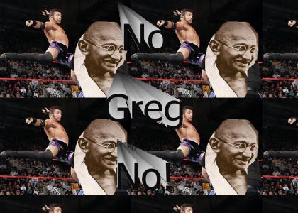 Greg Helms attacks...GHANDI!