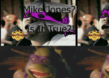 Mike Jones Is A....TEENAGE MUTANT NINJA TURTLE?!