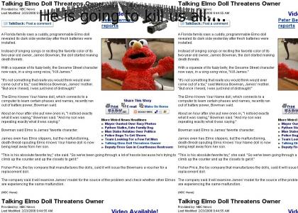 Elmo Strikes Back