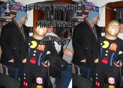 Mike Jones is... Pac Man!