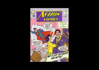 Superman is a deadbeat dad!