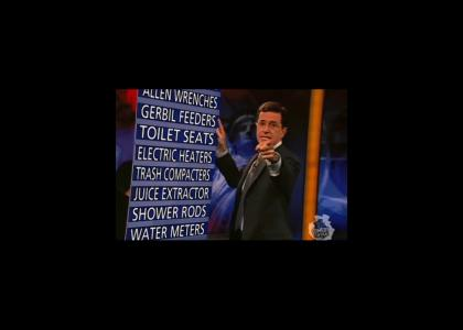 Colbert puts EVERYTHING on Notice