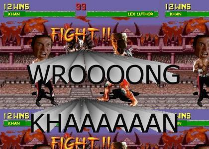 Khan vs Wrong