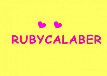 TO RUBY FROM FANFARE (includes optical illusion for pleb ytmnders)
