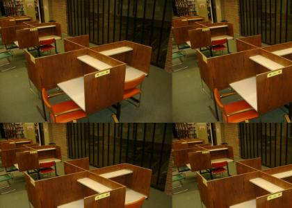 OMG, Secret Nazi Library Desks!