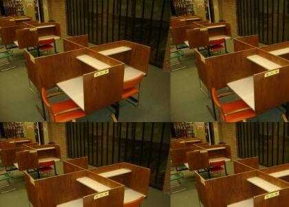 OMG, Secret Nazi Library Desks!