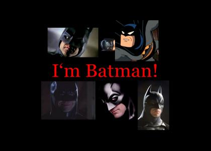 I AM BATMAN! (Now With Adam West!)