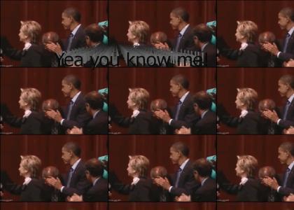 Obama's down...