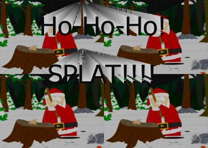 Santa is.........GALLAGHER!!