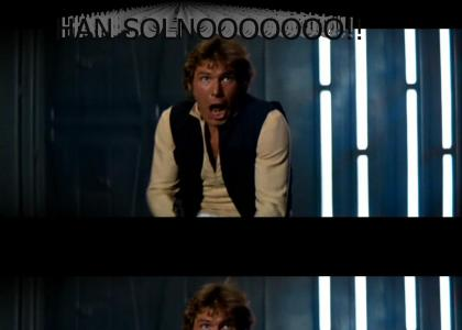 Han Solo gives the NOOOOOO fad a try!! (Much better now)