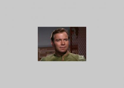 Captain Kirk is Steamed