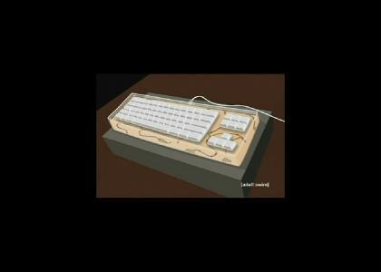 Ant Farm Keyboard!
