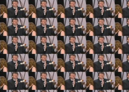 Michael Moore Can't Catch His Burrito