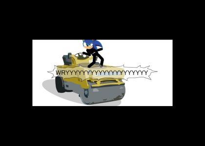 Sonic gives ZA WARUDO advice