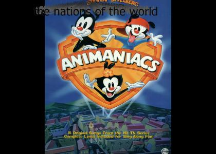 Animaniacs The nations of the world