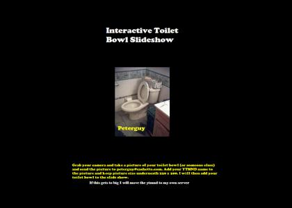 Interactive Toilet Slideshow